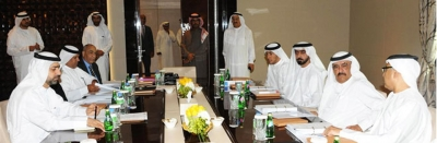 H.H. Sheikh Hamdan Bin Rashid chairs the meeting of General Pension and Social Security Authority