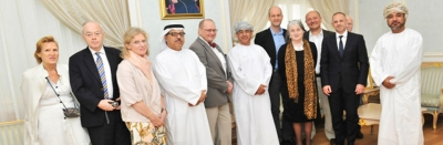 Hamdan Medical Award discusses prospects of cooperation with the National Genetic Center in Oman