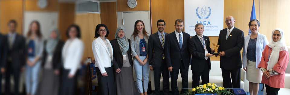 Hamdan Medical Award discusses the ways of cooperation with the International Atomic Energy Agency
